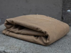 Mind the Maker Heavy Washed Canvas 17oz | brown khaki