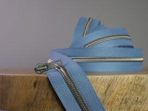 Reißverschluss Meterware turquoise oxyd | ohne Schieber