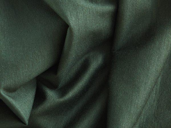 Meet Milk Basic Stretch Jersey mit TENCEL™ Fasern deep green