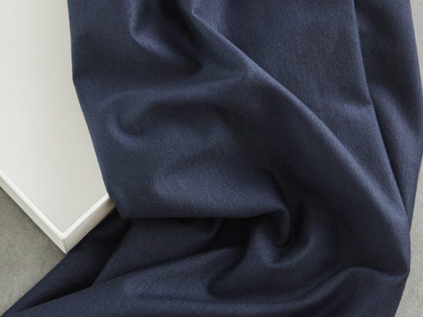 Meet Milk Basic Stretch Jersey mit TENCEL™ Fasern   dark navy
