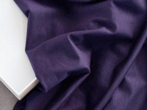 Meet Milk Basic Stretch Jersey mit TENCEL™ Fasern | purple night