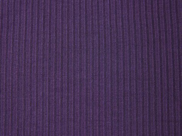 Meet Milk Derby Ribbed Jersey mit TENCEL™ Fasern   purple night