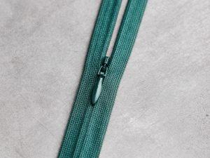 Meet Milk   Invisible Zipper 60 cm   emerald