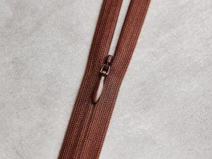 Meet Milk   Invisible Zipper 60 cm   pecan