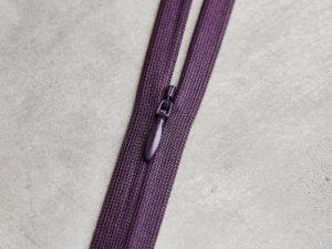 Meet Milk | Invisible Zipper 60 cm | purple night